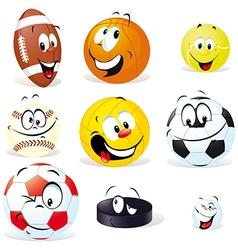 Sport balls isoletad vector