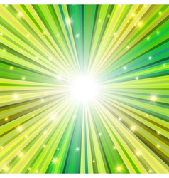 st patrick rays background vector image