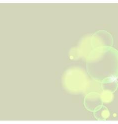 Bokeh light vintage background vector image vector image