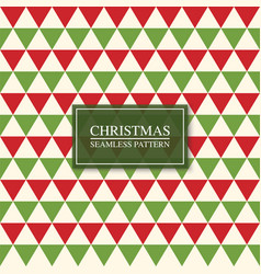 Christmas seamless colorful mosaic pattern bright vector