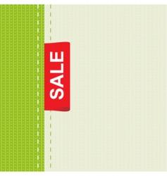 cloth sale vector image