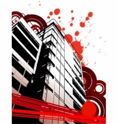 Grunge urban abstraction vector