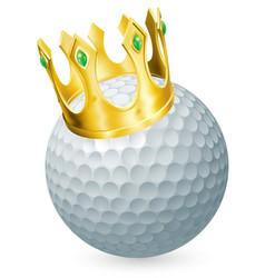 King golf vector