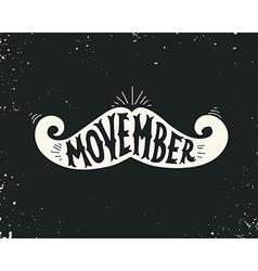 Movember vector