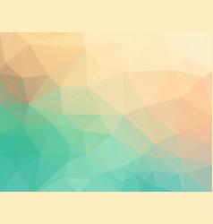 pastel color polygonal texture vector image