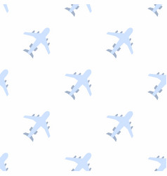 plane icon pattern vector image