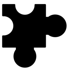 plugin flat icon vector image