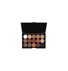 realistic eyeshadow set element vector image