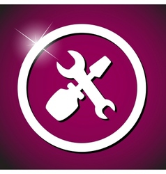 repair icon vector image
