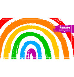 Therapy for lgbt sociaty template poster vector