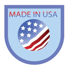 USA label vector image