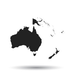 Australia To New Zealand Map.Australia New Zealand Map Vector Images Over 250
