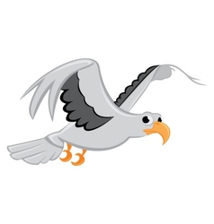 Bird flying vector image vector image