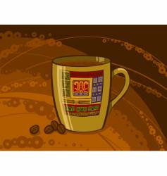brazilian coffee vector image