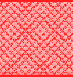 Classic japanese squama seamless pattern for vector