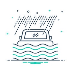 Flood coverage vector