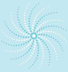 Holiday pinwheel design vector