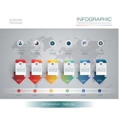 infographics timeline design 5-11-17 2 vector image