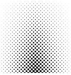Monochromatic abstract square pattern background vector