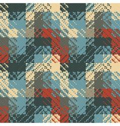 Rough geometric print vector