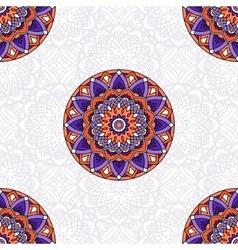 Seamless oriental pattern vector