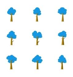 Tree flat stock vector