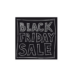 Black friday sale freehand drawing vector