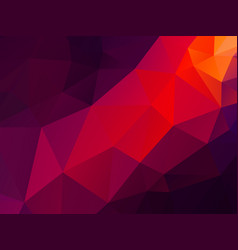 abstract purple red triangles background vector image