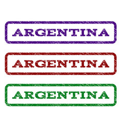 Argentina watermark stamp vector
