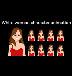 Character animation vector