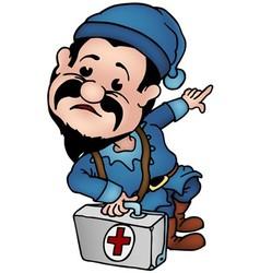 Dwarf Doctor vector image