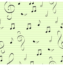 music pattern delicate color pattern texture vector image