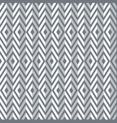 Seamless diamonds and zigzags pattern vector
