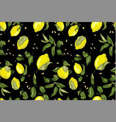 seamless pattern on the black background for vector image