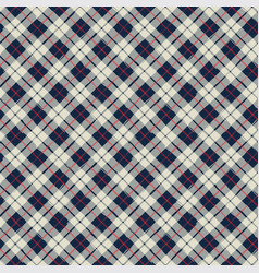 seamless pattern paint brush plaid grunge style vector image