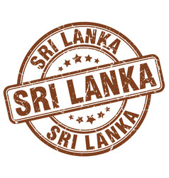 Sri lanka stamp vector