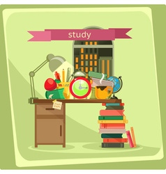 Study vector image