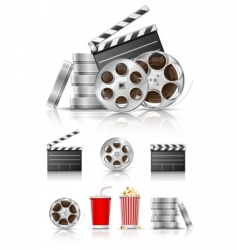 Film and movies vector