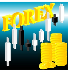 forex vector image vector image