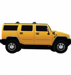 hummer vehicle vector image