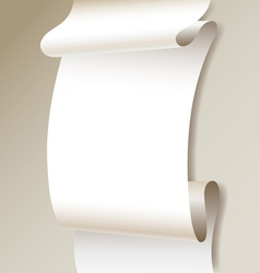 Paper tape vector image vector image