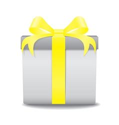 gift box ye vector image