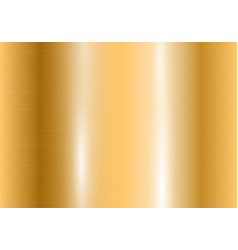 Gradient of yellow gold with highlights vector