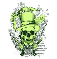 sir death vector image