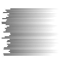 Speed lines background vector
