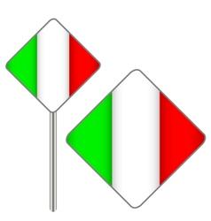 Italian signs vector image