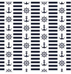 maritime mood pattern vector image