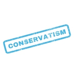 Conservatism Rubber Stamp vector image
