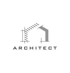 Construction logo design template vector