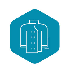 cooker clothes icon outline style vector image